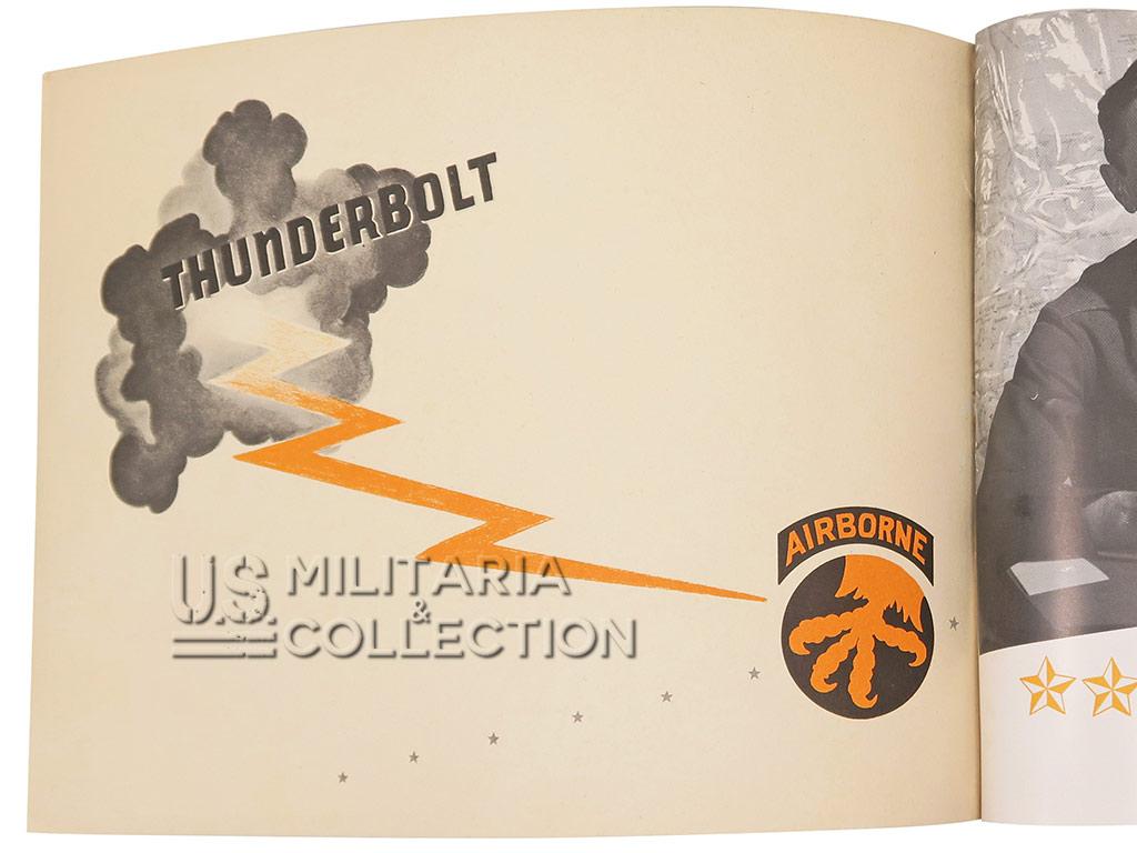 17th Airborne Division, Thunderbold, Livret 1944
