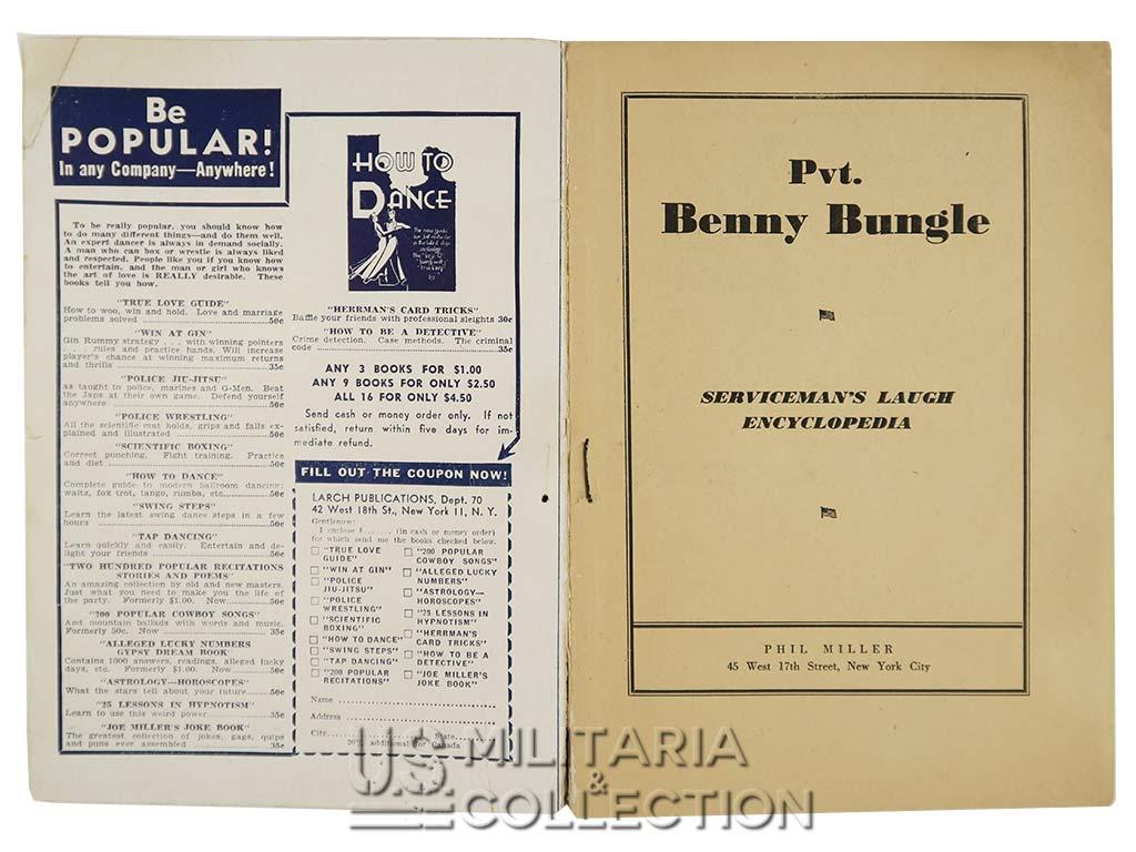 Bande dessinée US 1943, Private Benny