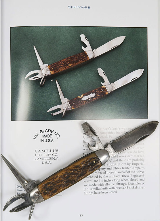 Couteau US Engineer, Pal Cutlery Co.