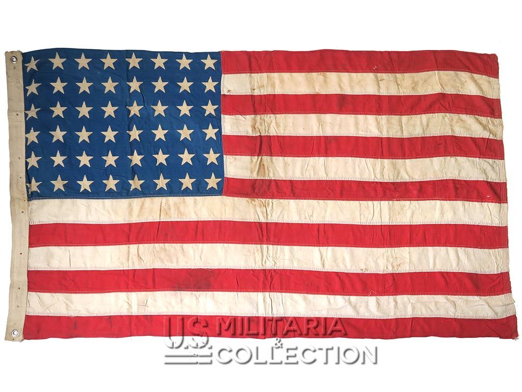 Drapeau US 48 étoiles imprimées