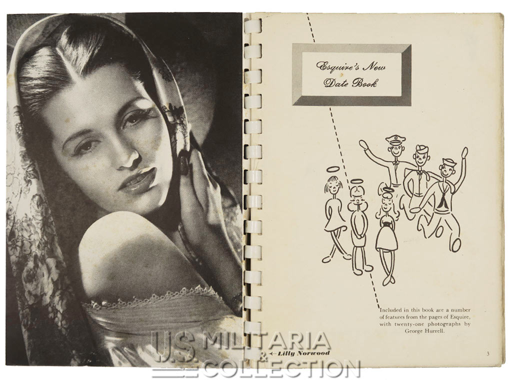 Esquire agenda, 1943. Pin-up et actrices US