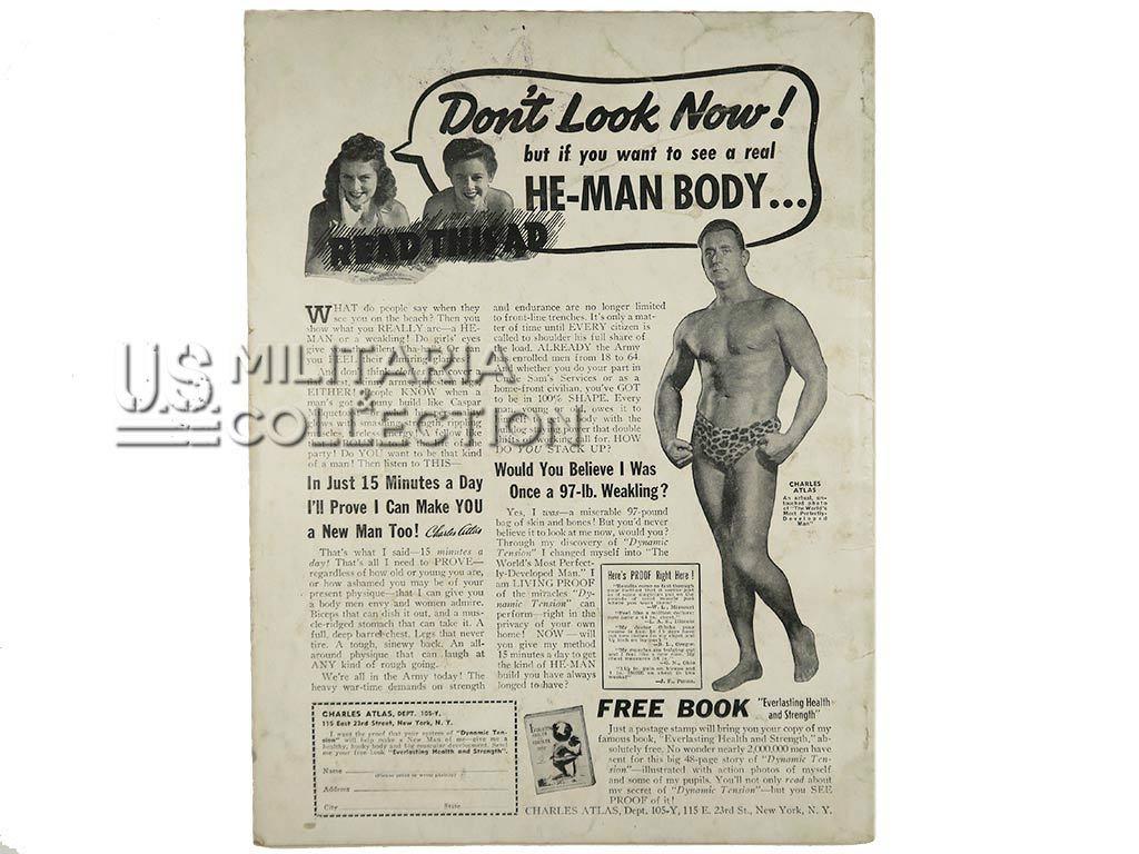 Magazine Beauty Parade, Pin Up, 1942