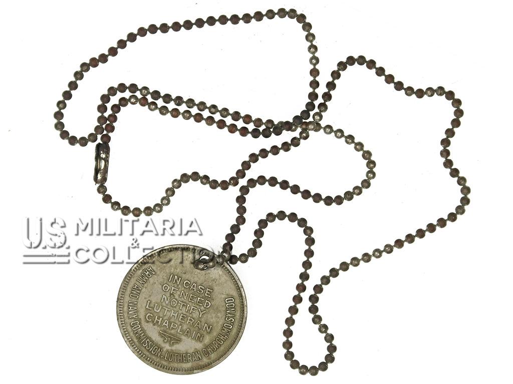 Médaillon religieux US Army Navy, Dog Tags