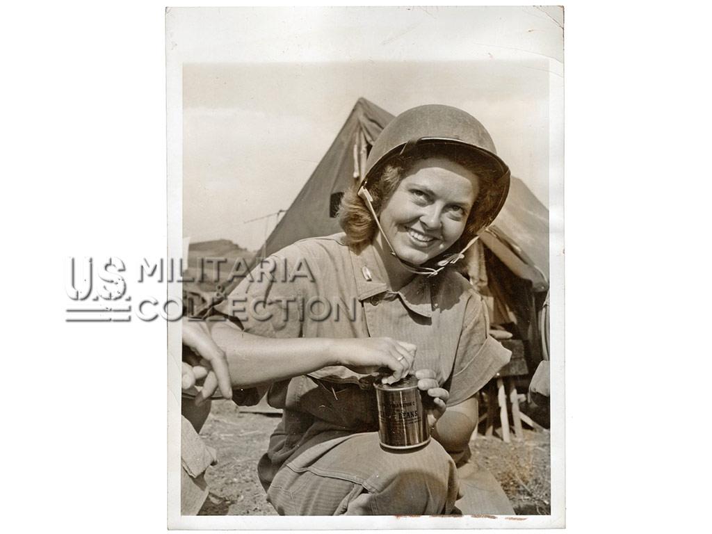 US Army Nurse, Lt. Peggy Smith, Photo 1943