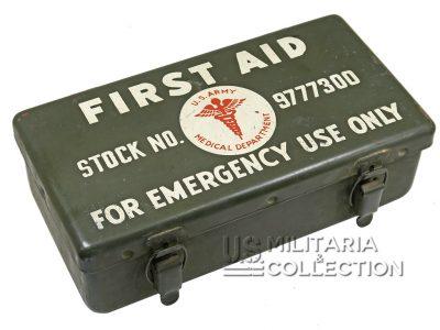 Boite de premiers secours, 12 unit, pour jeep