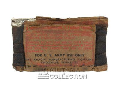 Boite Sulfadiazine US Army, emballage étanche