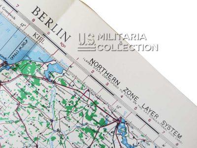 Carte Berlin USAAF, 1944