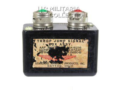 Signal de saut C47, Troop jump signal box